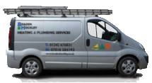 Braden Hockley Heating & Plumbing Van